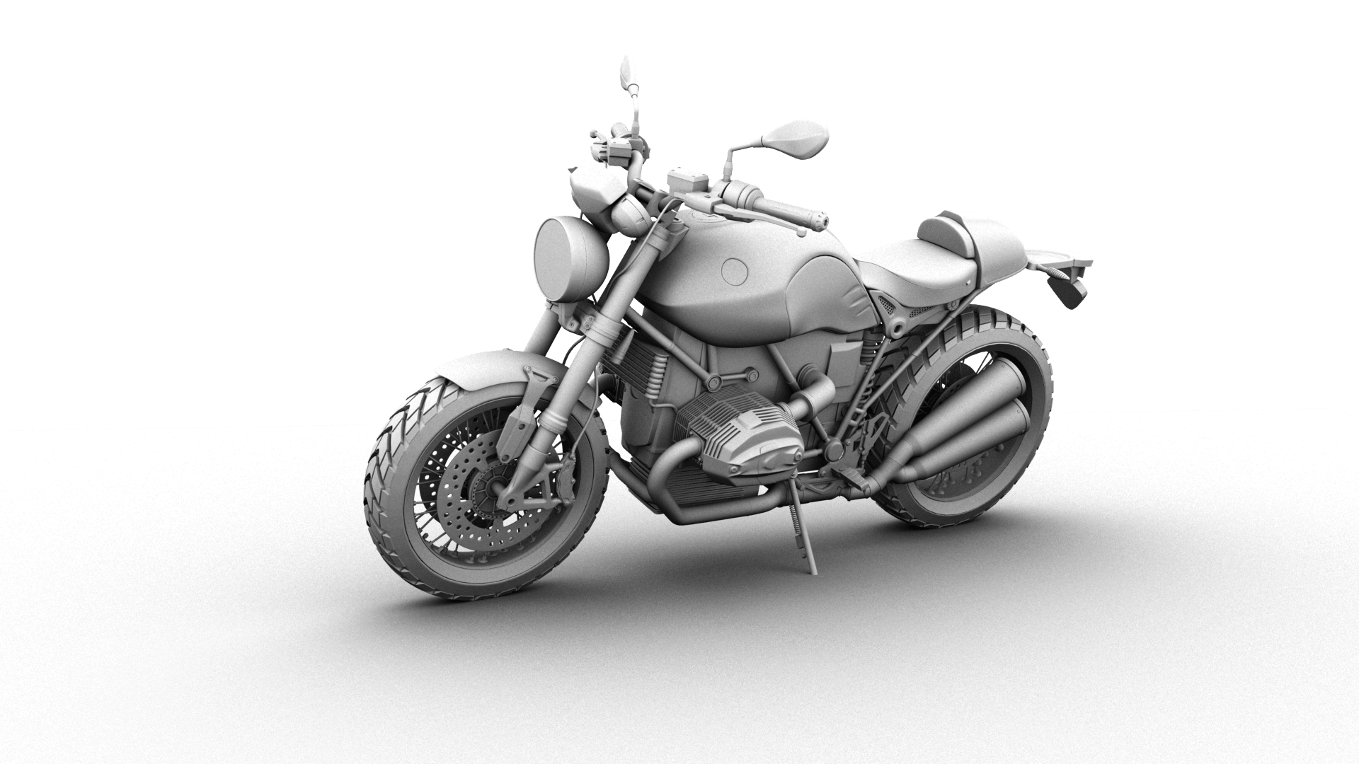 motorcycle bike 3d