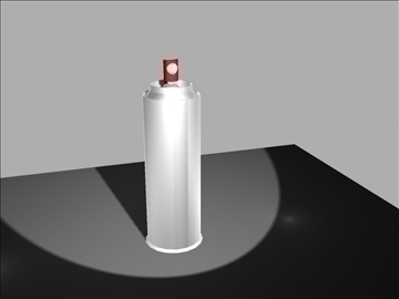 aerosol pot model 3d màxim 96557