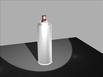 aerosol can 3d model max 96557