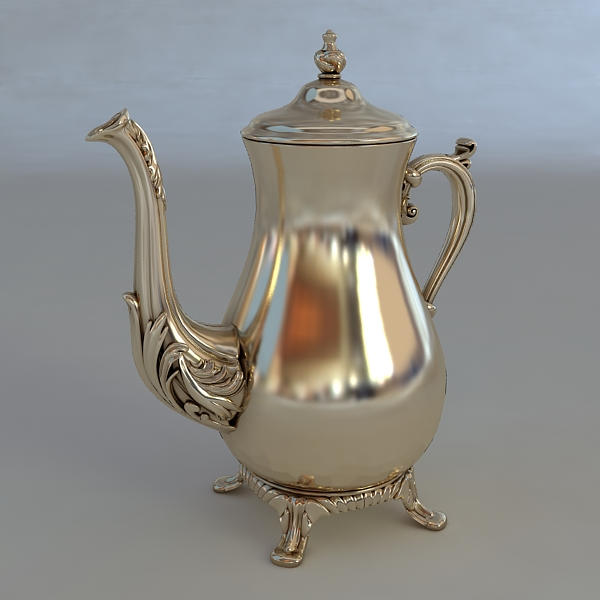 antiquarian jug 3d model 3ds max fbx obj 117038