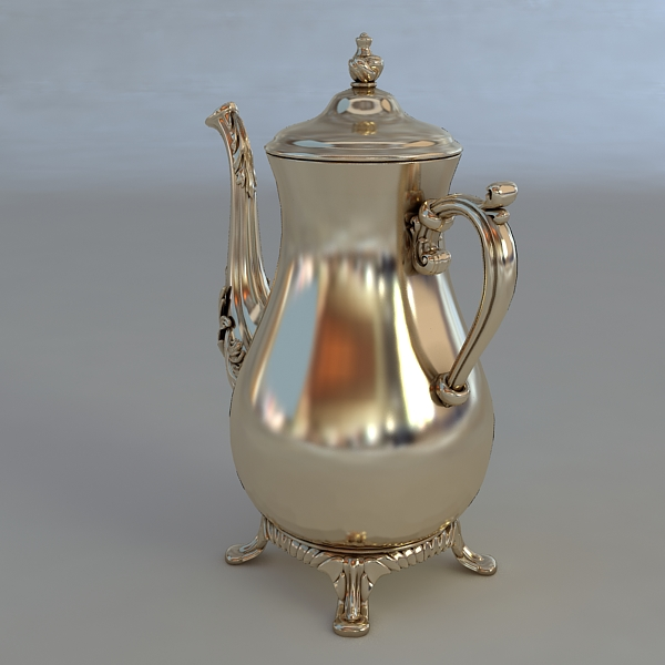antiquarian jug model 3d model 3ds max fbx obj 117039