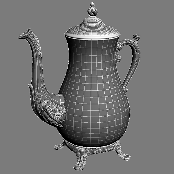 antiquarian jug 3d model 3ds max fbx obj 117040