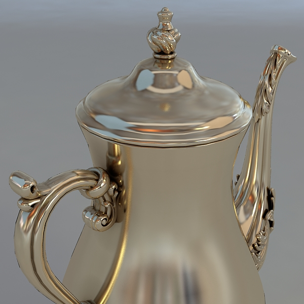 antiquarian jug model 3d model 3ds max fbx obj 117042