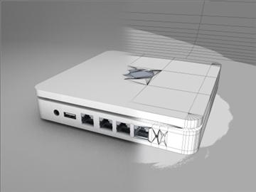 apple airport extreme 3d model 3ds dxf fbx c4d x obj 85261