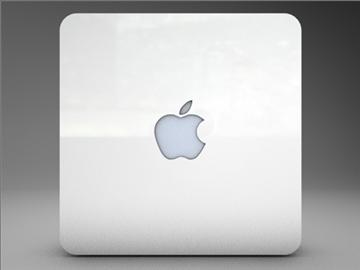 apple airport extreme 3d model 3ds dxf fbx c4d x obj 85264