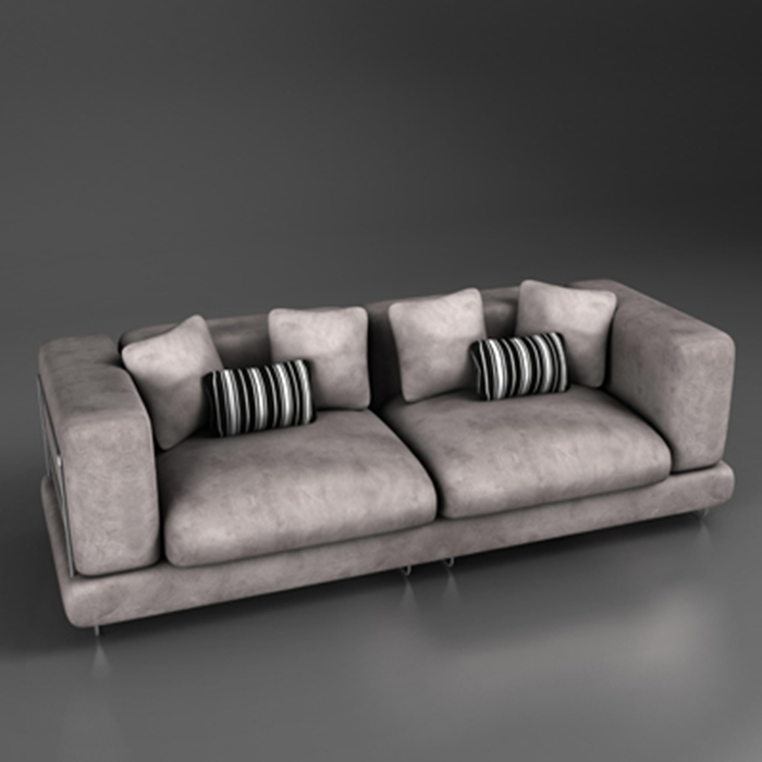 armchair 6 3d model 3ds max fbx ma mb obj 155682