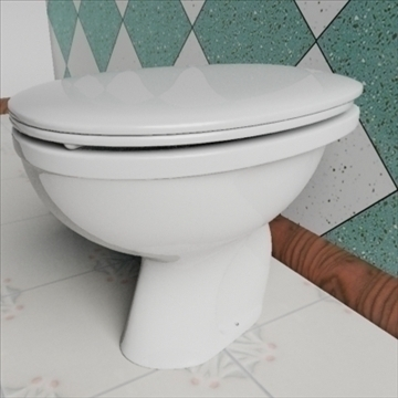 babi wc model 3d 3ds max dxf obj 82246