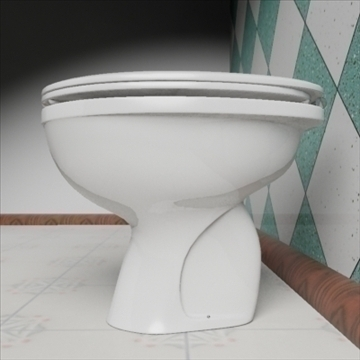 baby wc model 3d 3ds max dxf obj 82247