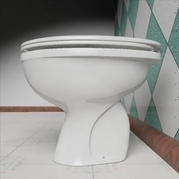 babi wc model 3d 3ds max dxf obj 82247