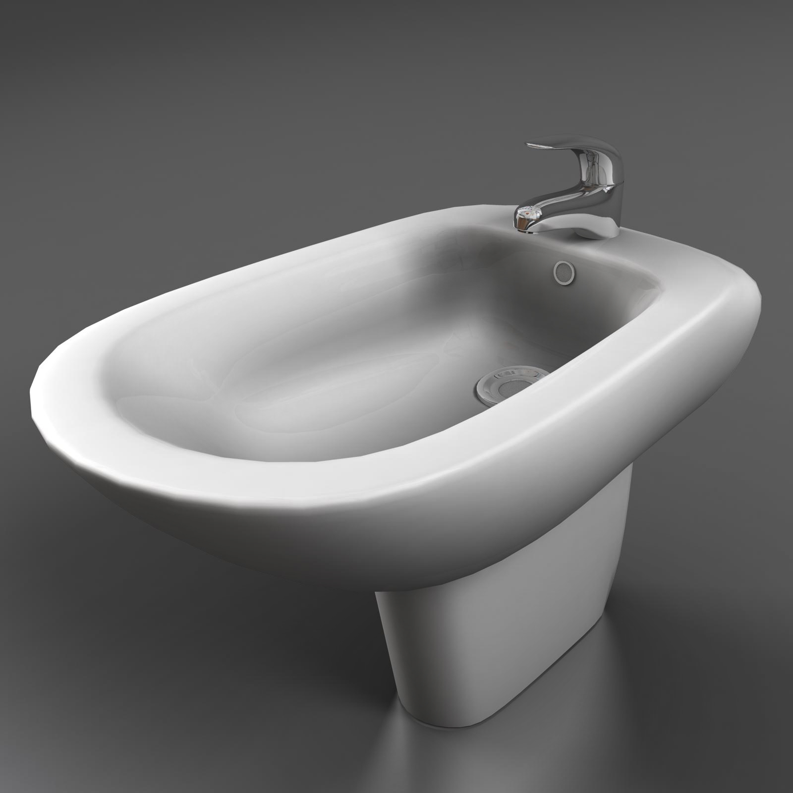 bidet bathroom 3d model 3ds max fbx ma mb obj 155964