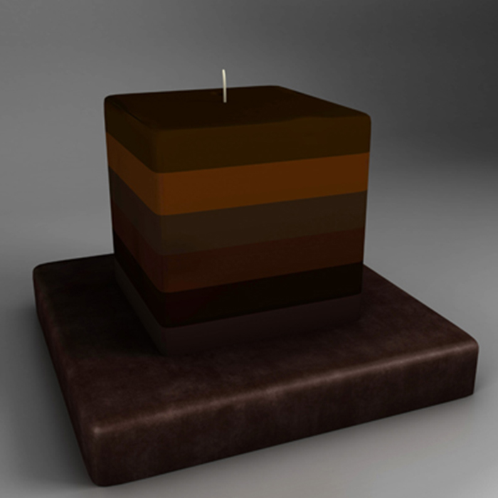 candle 3d model 3ds ma mb obj 155662