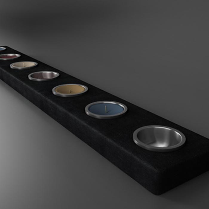 candle holder 3d model 3ds ma mb obj 155659