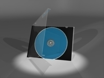 CD slučaj 3d model 3ds dxf lwo 81091