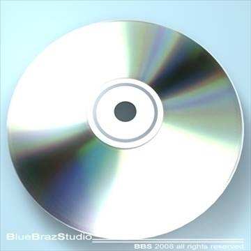 cd dvd 3d model 3ds dxf c4d obj 109930