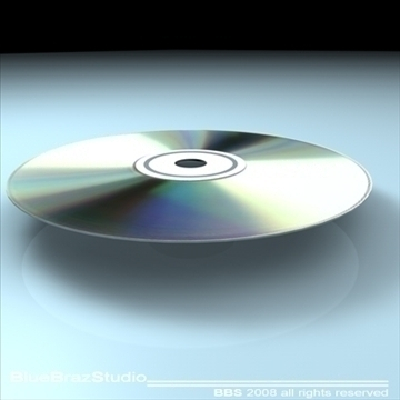cd dvd 3d model 3ds dxf c4d obj 109932