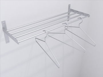 coat rack 3d model 3ds max wrl wrz obj 109038