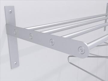 coat rack 3d model 3ds max wrl wrz obj 109040