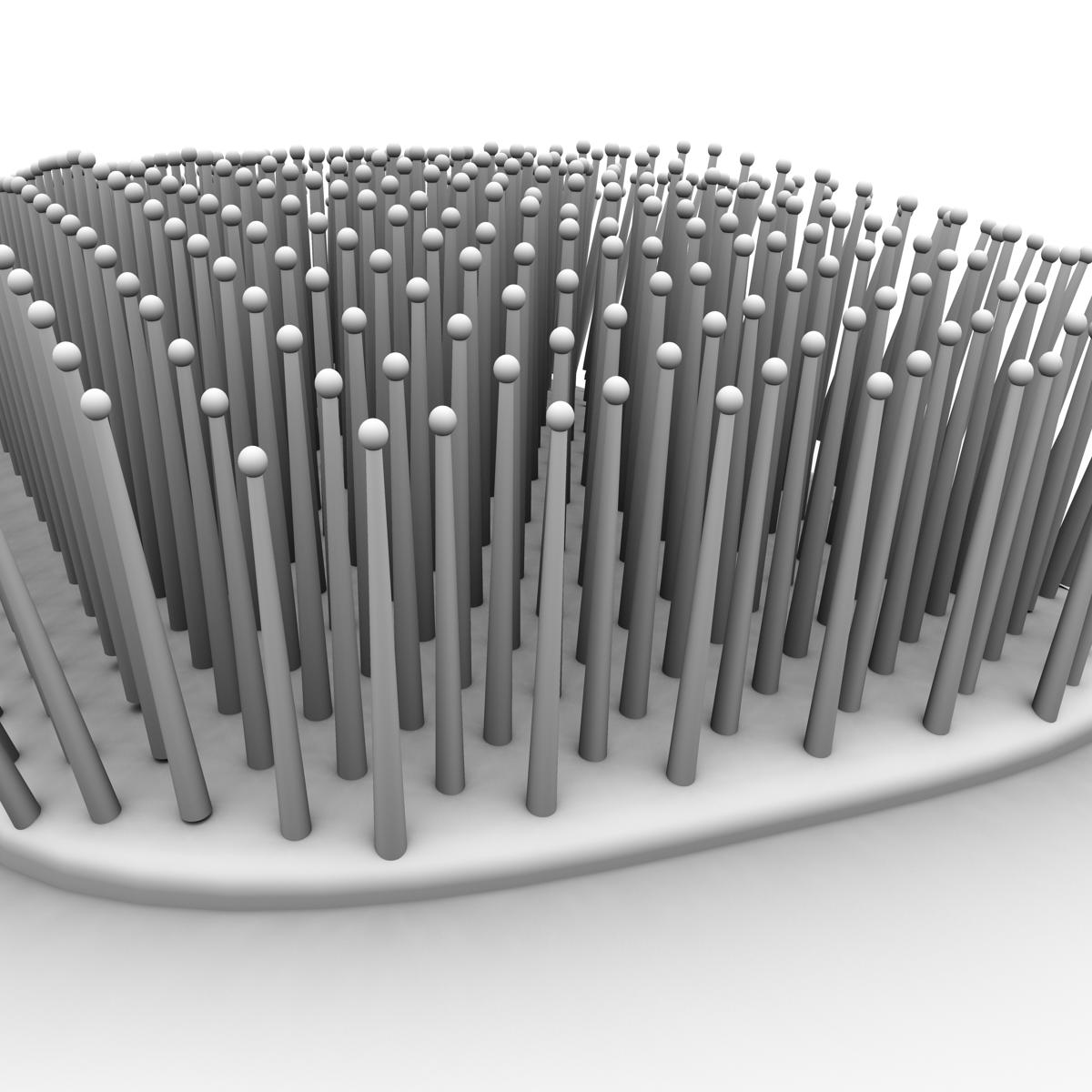 comb 3d model 3ds max fbx ma mb obj 158296