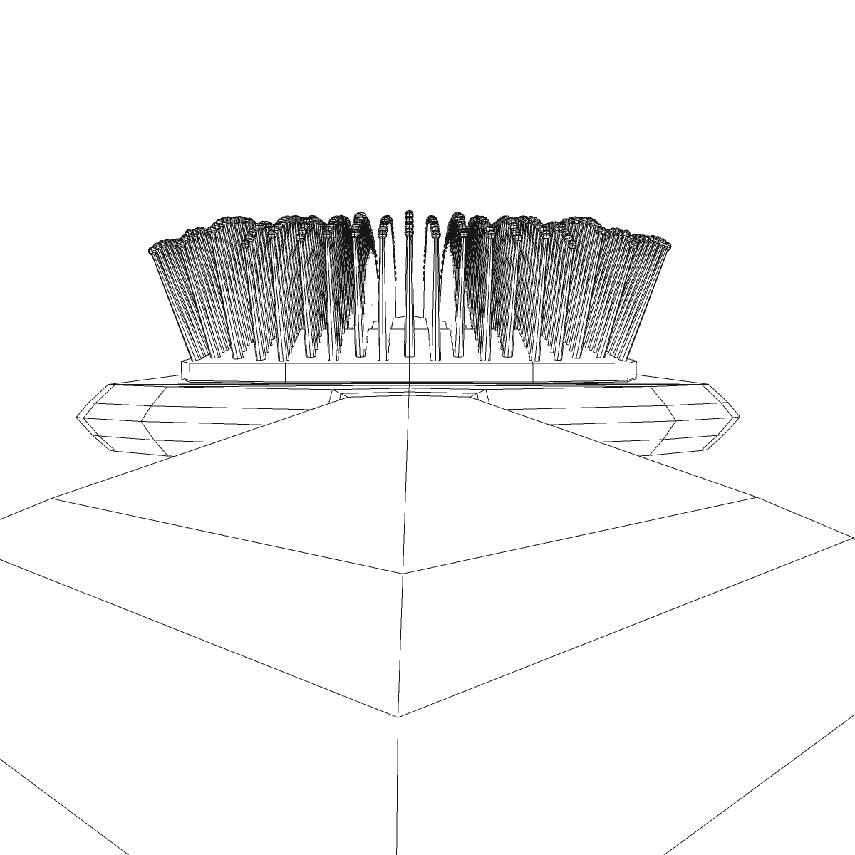 comb 3d model 3ds max fbx ma mb obj 158305