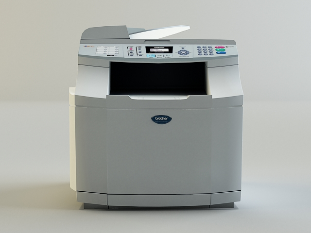 copy machine 3d model 3ds max obj 138455