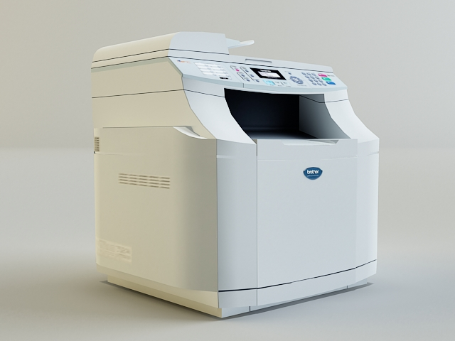 copy machine 3d model 3ds max obj 138456