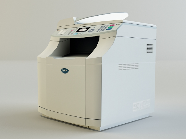 copy machine 3d model 3ds max obj 138457
