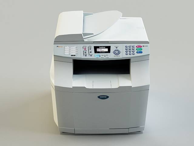 copy machine 3d model 3ds max obj 138458