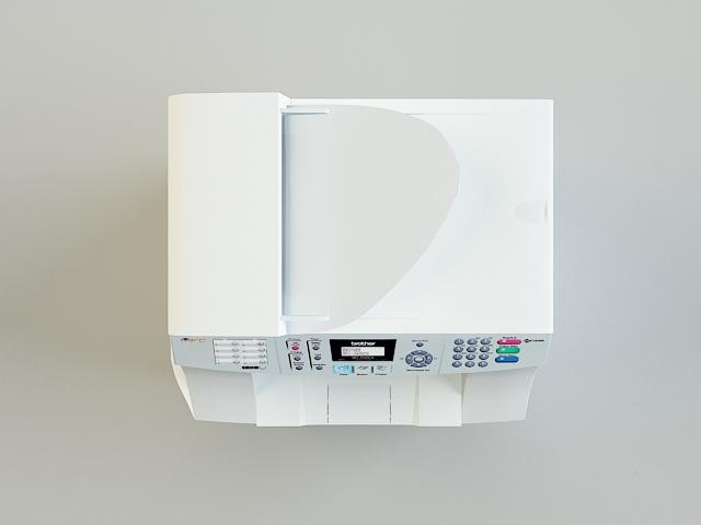 copy machine 3d model 3ds max obj 138459
