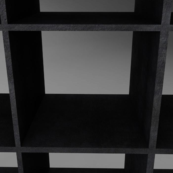 dökk tré bókaskápur geymsla 3d líkan 3ds fbx ma mb obj 155578