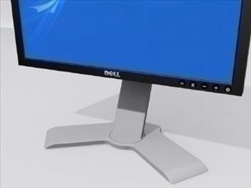 dell datora monitors 3d modelis 3ds max wrl wrz obj 109042