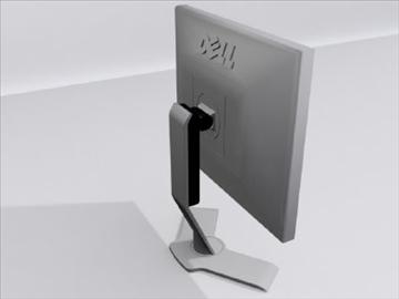 dell datora monitors 3d modelis 3ds max wrl wrz obj 109044