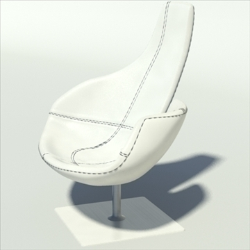 fjord_high_resolution_white 3d model 3ds max dwg fbx obj 87612