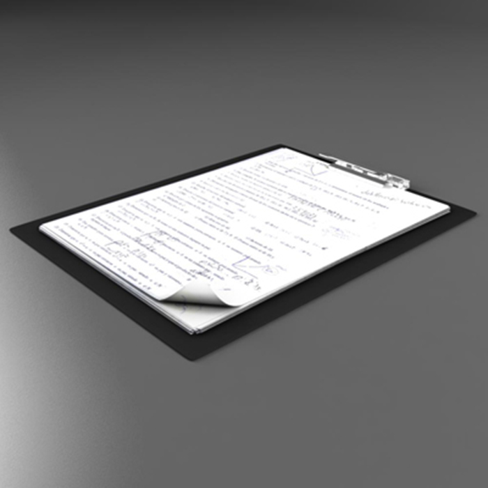 folder note 3d model 3ds max fbx ma mb obj 155925