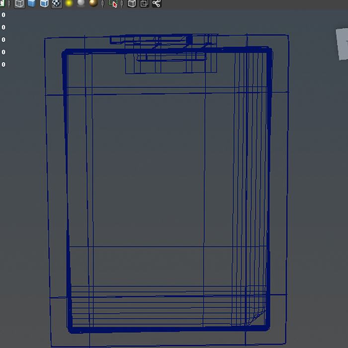 folder note 3d model 3ds max fbx ma mb obj 155933