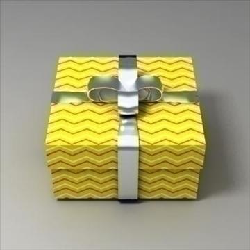 gift box 02 3d model 3ds max fbx obj 103576