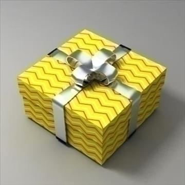 gift box 02 3d model 3ds max fbx obj 103577