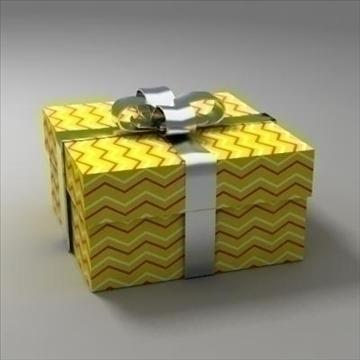 gift box 02 3d model 3ds max fbx obj 103578
