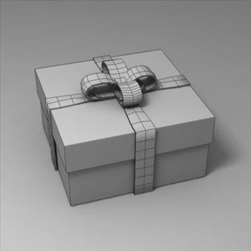 gift box 02 3d model 3ds max fbx obj 103581