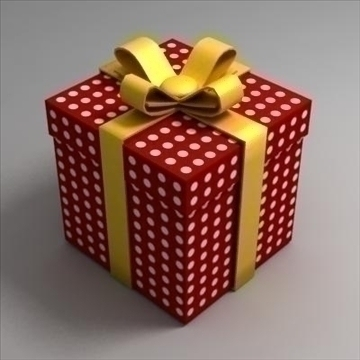 gift box 3d model max 103490