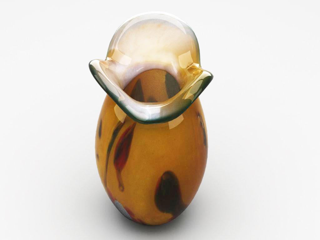 glass decorative vase 02 3d model max 147588