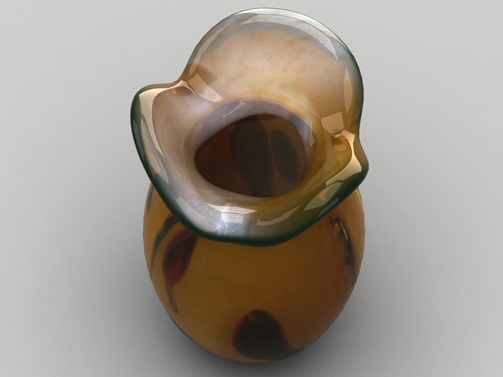 stikla dekoratīvā vāze 02 3d modelis max 147589