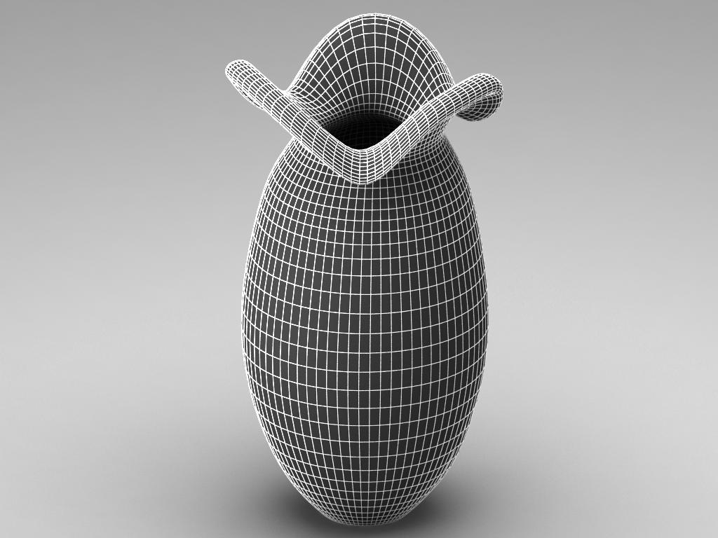 glass decorative vase 02 3d model max 147590