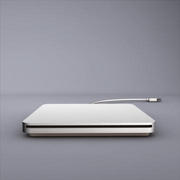 macbook air superdrive 3d model 3ds dxf fbx c4d x obj 87906