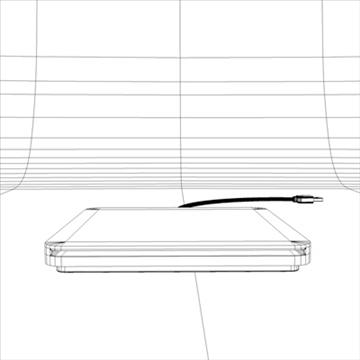 macbook air superdrive 3d model 3ds dxf fbx c4d x obj 87907
