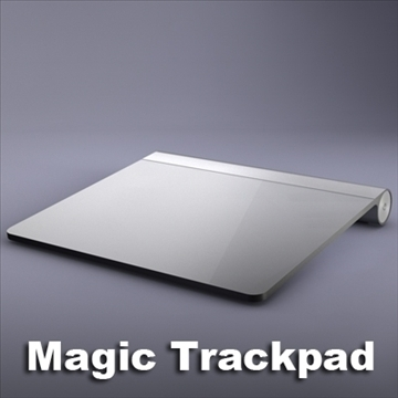 magic trackpad 3d model 3ds dxf fbx c4d x obj 106644