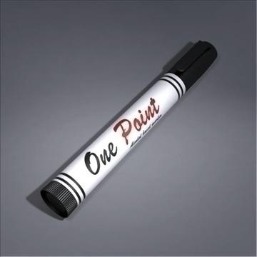 marker 3d model 3ds max fbx obj 106014