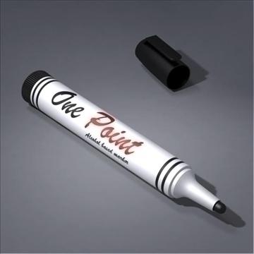 marker 3d model 3ds max fbx obj 106016