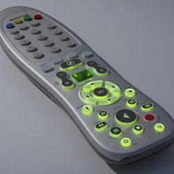 Media Center remote control ( 143.59KB jpg by Pixelblock )