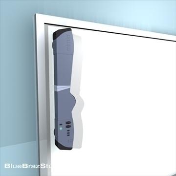 mimio whiteboard 3d model 3ds dxf c4d obj 93186