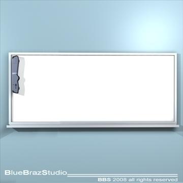 mimio whiteboard 3d model 3ds dxf c4d obj 93188